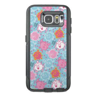 Little Miss Princess | Pretty Pink & Blue Pattern OtterBox Samsung Galaxy S6 Case