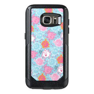 Little Miss Princess | Pretty Pink & Blue Pattern OtterBox Samsung Galaxy S7 Case