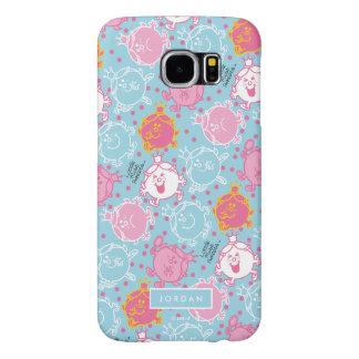 Little Miss Princess | Pretty Pink & Blue Pattern Samsung Galaxy S6 Cases
