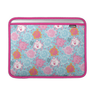 Little Miss Princess | Pretty Pink & Blue Pattern Sleeve For MacBook Air