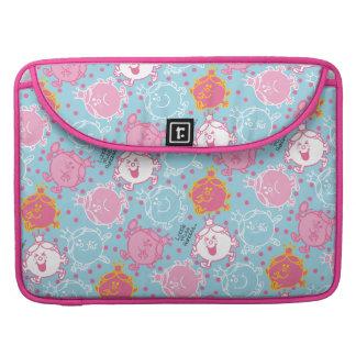 Little Miss Princess | Pretty Pink & Blue Pattern Sleeve For MacBook Pro