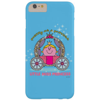 Little Miss Princess | Sparkling Carriage Barely There iPhone 6 Plus Case