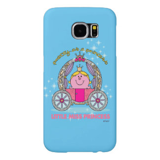 Little Miss Princess | Sparkling Carriage Samsung Galaxy S6 Cases