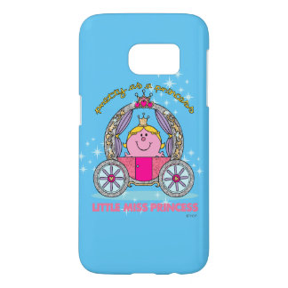 Little Miss Princess | Sparkling Carriage Samsung Galaxy S7 Case