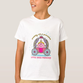 Little Miss Princess | Sparkling Carriage T-Shirt