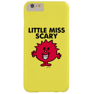 Little Miss Scary | Black Lettering Barely There iPhone 6 Plus Case