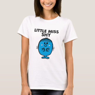 Little Miss Shy | Black Lettering T-Shirt