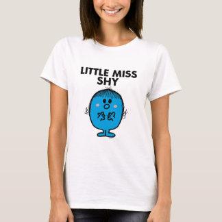 Little Miss Shy | Black Lettering T-Shirt