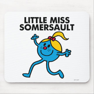 Little Miss Somersault Walking Tall Mouse Pad