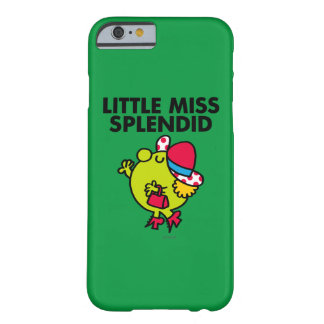 Little Miss Splendid | Black Lettering Barely There iPhone 6 Case