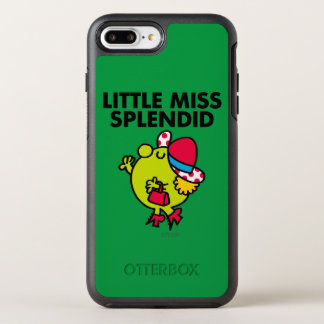 Little Miss Splendid | Black Lettering OtterBox Symmetry iPhone 7 Plus Case
