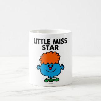 Little Miss Star   Black Lettering Classic White Coffee Mug
