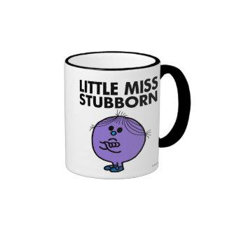 Little Miss Stubborn | Arms Crossed Ringer Mug