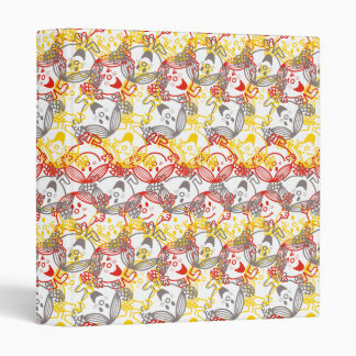 Little Miss Sunshine | All Smiles Pattern 3 Ring Binders