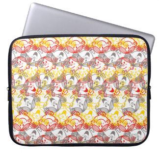 Little Miss Sunshine   All Smiles Pattern Laptop Sleeve
