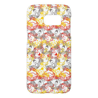 Little Miss Sunshine | All Smiles Pattern Samsung Galaxy S7 Case