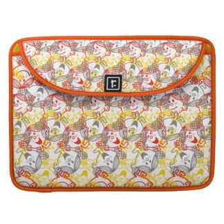 Little Miss Sunshine | All Smiles Pattern Sleeve For MacBooks
