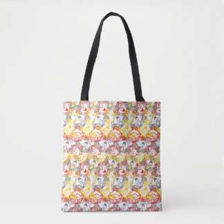 Little Miss Sunshine | All Smiles Pattern Tote Bag