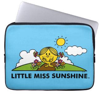 Little Miss Sunshine   Back To Nature Laptop Sleeve