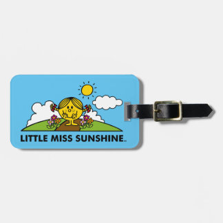 Little Miss Sunshine | Back To Nature Luggage Tag