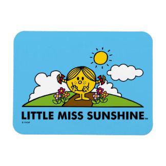 Little Miss Sunshine | Back To Nature Rectangular Photo Magnet