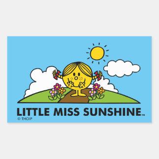 Little Miss Sunshine | Back To Nature Sticker
