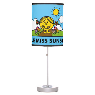 Little Miss Sunshine | Back To Nature Table Lamp