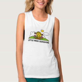 Little Miss Sunshine | Back To Nature Tank Top