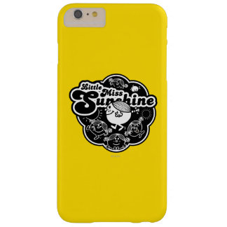 Little Miss Sunshine | Black & White Barely There iPhone 6 Plus Case