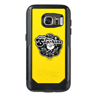 Little Miss Sunshine | Black & White OtterBox Samsung Galaxy S7 Case