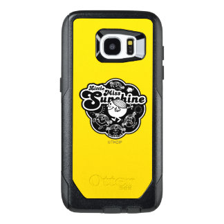 Little Miss Sunshine | Black & White OtterBox Samsung Galaxy S7 Edge Case