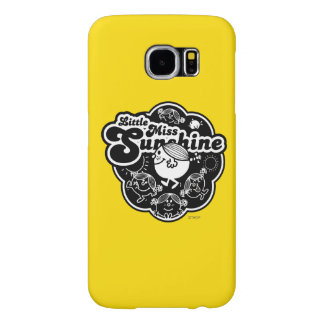 Little Miss Sunshine | Black & White Samsung Galaxy S6 Cases