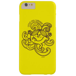 Little Miss Sunshine | Black & White Swirls Barely There iPhone 6 Plus Case