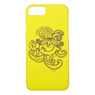 Little Miss Sunshine | Black & White Swirls iPhone 7 Case
