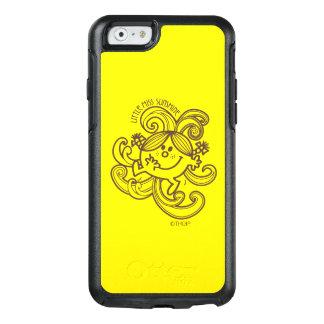 Little Miss Sunshine | Black & White Swirls OtterBox iPhone 6/6s Case