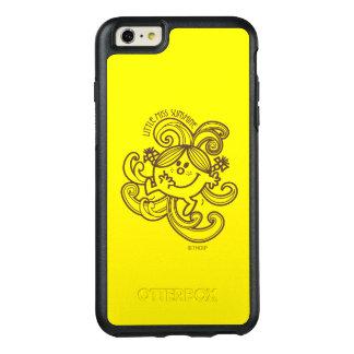 Little Miss Sunshine | Black & White Swirls OtterBox iPhone 6/6s Plus Case