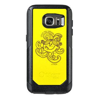 Little Miss Sunshine   Black & White Swirls OtterBox Samsung Galaxy S7 Case