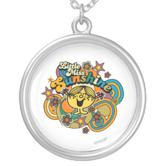 Little Miss Sunshine | Floral Delight Silver Plated Necklace