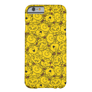 Little Miss Sunshine | Fun Yellow Smiles Pattern Barely There iPhone 6 Case