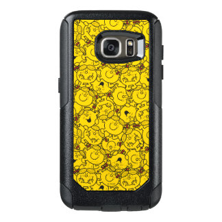 Little Miss Sunshine | Fun Yellow Smiles Pattern OtterBox Samsung Galaxy S7 Case