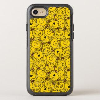 Little Miss Sunshine   Fun Yellow Smiles Pattern OtterBox Symmetry iPhone 7 Case