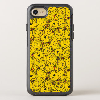 Little Miss Sunshine | Fun Yellow Smiles Pattern OtterBox Symmetry iPhone 8/7 Case
