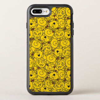 Little Miss Sunshine | Fun Yellow Smiles Pattern OtterBox Symmetry iPhone 8 Plus/7 Plus Case