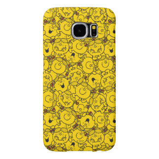 Little Miss Sunshine | Fun Yellow Smiles Pattern Samsung Galaxy S6 Cases