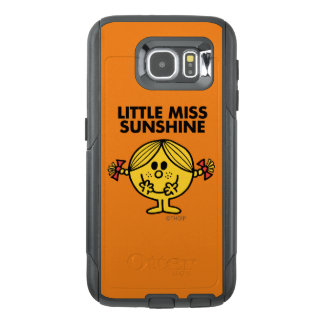 Little Miss Sunshine   Funny & Freckled OtterBox Samsung Galaxy S6 Case