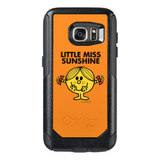 Little Miss Sunshine   Funny & Freckled OtterBox Samsung Galaxy S7 Case