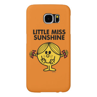 Little Miss Sunshine | Funny & Freckled Samsung Galaxy S6 Cases