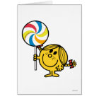 Little Miss Sunshine | Giant Lollipop Card