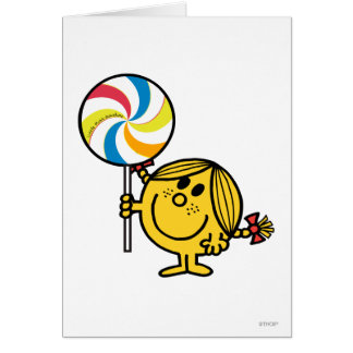 Little Miss Sunshine | Giant Lollipop Greeting Card
