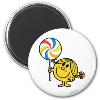 Little Miss Sunshine | Giant Lollipop Magnet